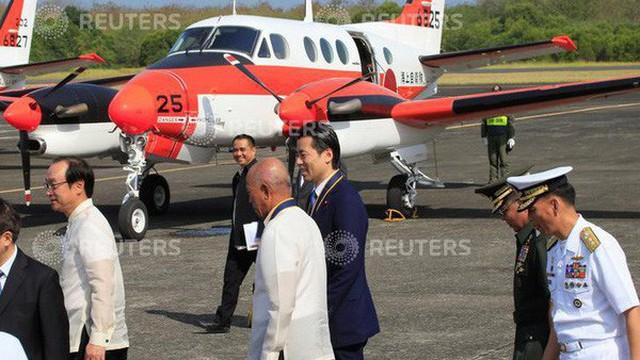 Philippines dùng máy bay Nhật Bản tuần tra bãi cạn Scarborough