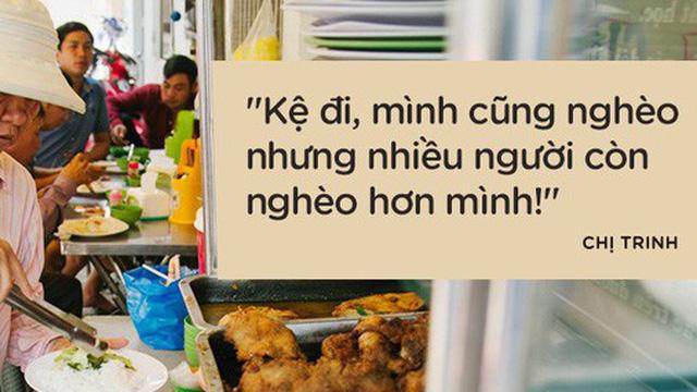 """Cô bán cơm dễ thương hết sức ở Sài Gòn: """"10 ngàn cũng bán, khách nhiêu tiền cũng có cơm ăn"""""""
