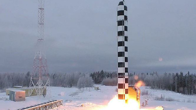 Nga tung video thử tên lửa Sarmat giữa lúc căng thẳng với phương Tây