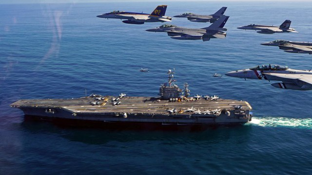 Mỹ khẳng định tàu sân bay trụ vững trước vũ khí siêu vượt âm của Nga