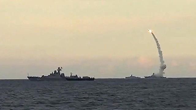 Nga tập trận trên Địa Trung Hải, cấm xâm nhập vùng biển Syria