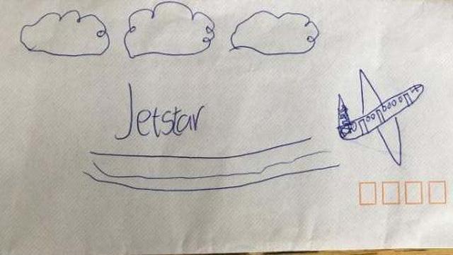 Gửi tâm thư cho hãng hàng không Jetstar, cậu bé 9 tuổi nhận được món quà bất ngờ