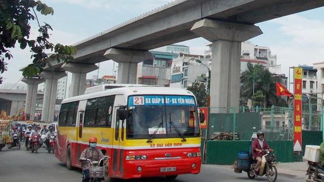 Xe buýt kết nối với đường sắt Cát Linh - Hà Đông ra sao?