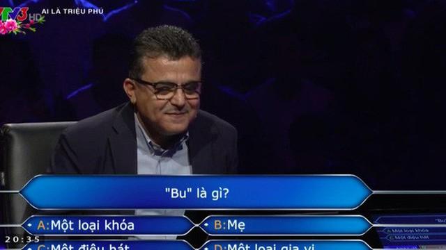 """Ai là triệu phú: Câu hỏi vừa đưa ra đã khiến người chơi """"đứng hình"""""""