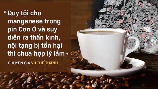 """Cà phê pin """"Con Ó"""": Chấn động và họa lây"""