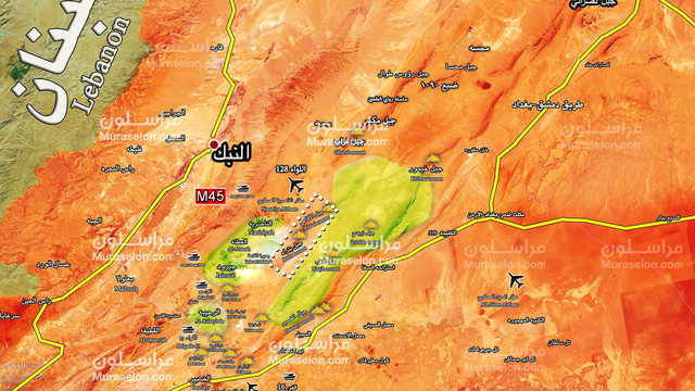 """""""Hổ Syria"""" tung đòn chiếm 2 cao điểm ở Qalamoun, quân thánh chiến thảm bại đành di tản"""