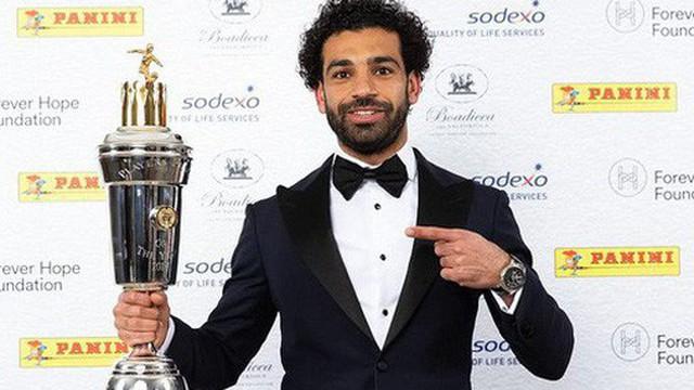 Mohamed Salah đạt danh hiệu Cầu thủ xuất sắc nhất mùa giải Ngoại hạng Anh