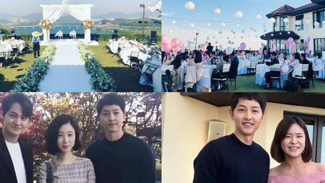 Hôn lễ gây bão vì hội tụ 2 tài tử Song Joong Ki và Kim Bum, tổ chức tại khách sạn ông hoàng Bae Yong Joon cưới