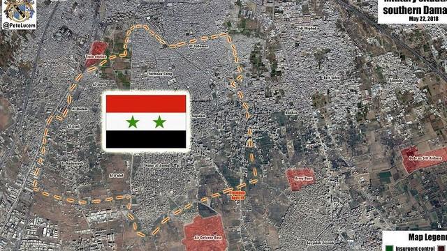 Nga-Syria đại thắng Yarmouk sẽ làm biến động mạnh tình hình Trung Đông