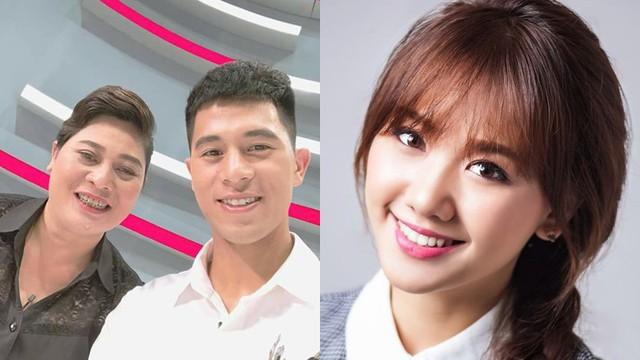 Mẹ Đình Trọng U23 Việt Nam phấn khích khi thấy Hari Won: Tôi muốn có con dâu như Hari Won!