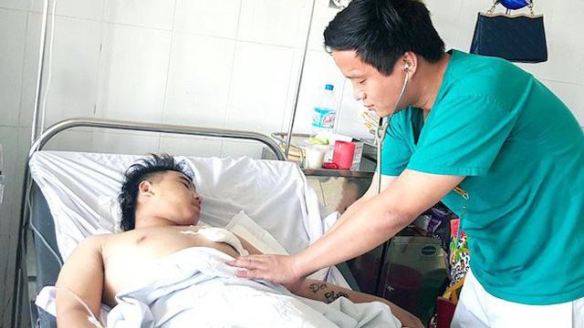 Nghệ An: Nam thanh niên bị dao đâm thấu tim được cứu sống thần kỳ