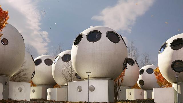 """Nhà ở kiểu """"người ngoài hành tinh"""" đã xuất hiện ở Hà Lan từ hàng chục năm trước"""