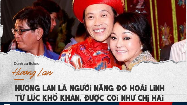 """Hương Lan: Giọng hát thần sầu và """"quyền lực"""" khiến Hoài Linh, Đàm Vĩnh Hưng nể nang"""