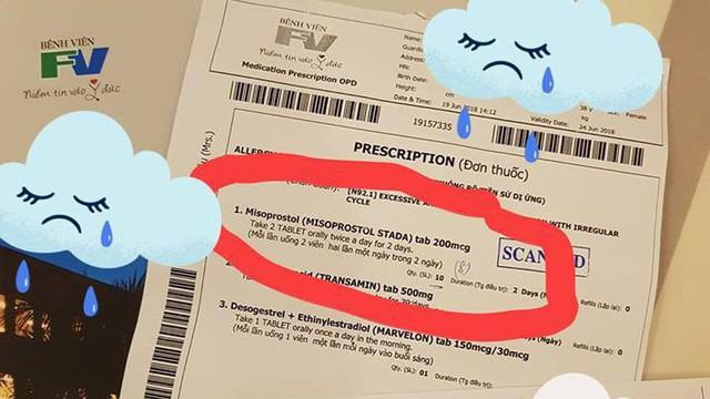Bệnh nhân tố có thai bị BS cho uống thuốc phá thai: Bệnh viện FV nói thông tin bị bóp méo