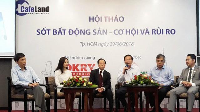 TS. Nguyễn Trí Hiếu: Cực đáng lo ngại khi dư nợ BĐS chiếm 20% tổng dư nợ của cả nền kinh tế, rất có thể bong bóng BĐS sẽ hình thành vào 2019!