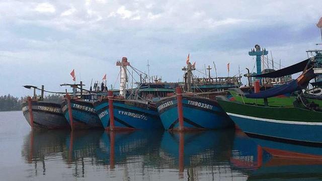 Cấm biển, gọi xong tàu thuyền vào bờ tránh bão trước 19h hôm nay