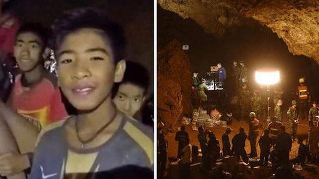 Rời hang tối, cầu thủ Thái Lan giảm 2kg, chưa thể nói chuyện trở lại