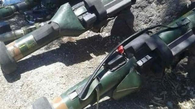 Điều bất ngờ trong hệ thống vũ khí chống tăng của khủng bố bị quân Syria thu hồi ở Daraa