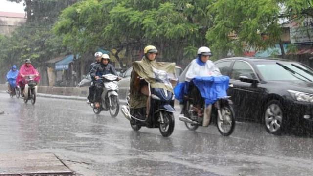 Thời tiết 13/7: Bắc Bộ mưa dông diện rộng