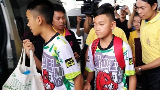 Các cầu thủ nhí Thái Lan mơ làm đặc nhiệm SEAL sau khi được giải cứu