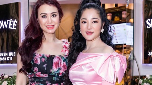 Diễn viên hài Thúy Nga đọ sắc với Hoa hậu Mỹ Vân