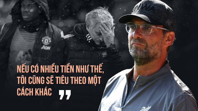 """Đến bây giờ, Klopp mới hiểu được """"nỗi khổ"""" ngập trong tiền của Mourinho"""