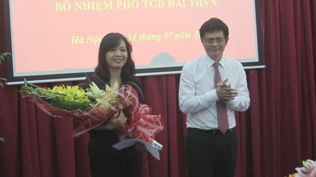 Nữ Phó Tổng Giám đốc đầu tiên của VTV được bổ nhiệm lại