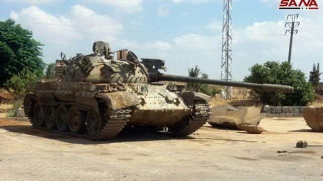 Quân đội Syria chiếm hàng loạt xe tăng thiết giáp phe thánh chiến tại Daraa