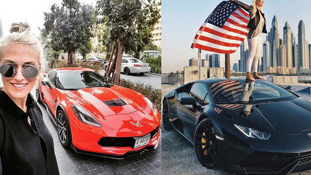 """Cuộc sống của chân dài """"Hội nhà giàu Dubai"""": Xa hoa, nhiều siêu xe vây quanh nhất Dubai"""