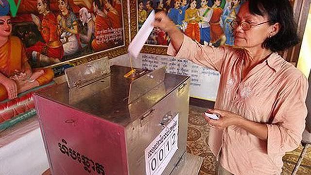 Cục diện chính trường Campuchia trước thềm bầu cử