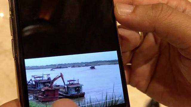 Tướng Đào Thanh Hải: Tàu cảnh sát đường thủy cạnh tàu cát tặc không phải của Hà Nội