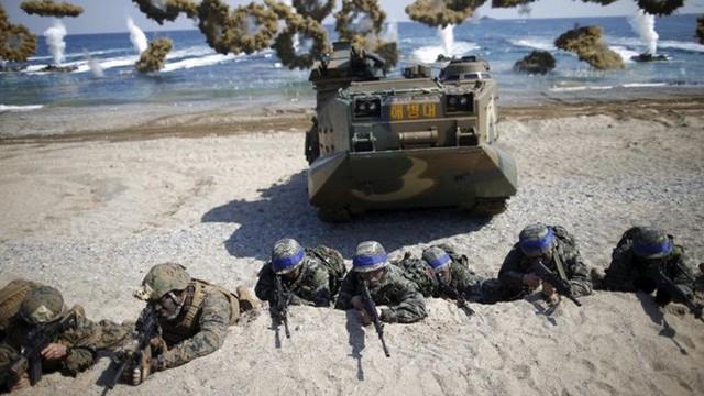 Tiết lộ chi phí cho một cuộc tập trận Mỹ-Hàn