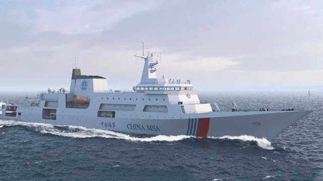 """Trung Quốc """"hô biến"""" tàu chiến Type 055 thành tàu tuần tra 10.000 tấn đe dọa láng giềng?"""
