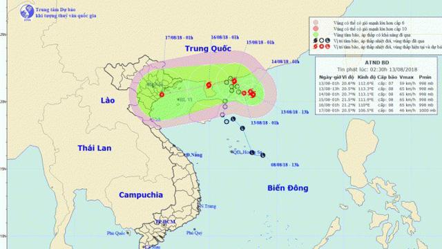 Áp thấp nhiệt đới sắp thành bão, miền Bắc oi nóng trước đợt mưa dông kéo dài