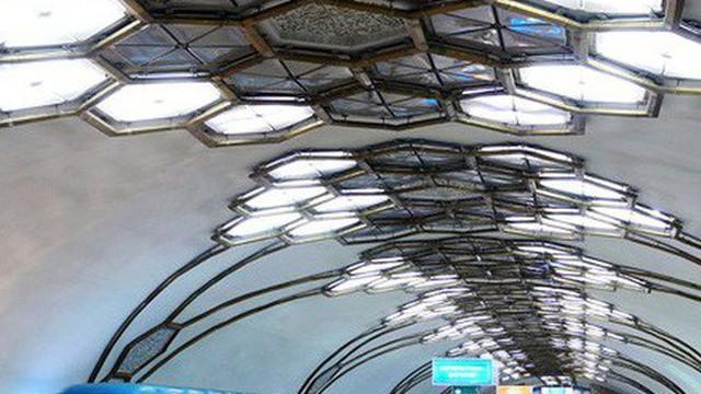 Ảnh: Khám phá ga tàu điện ngầm chống bom hạt nhân bí mật ở Uzbekistan