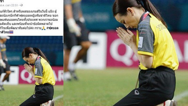 """Cùng nói lời xin lỗi, """"mỹ nhân"""" của Thái Lan nhận phản ứng trái ngược so với HLV Srimaka"""