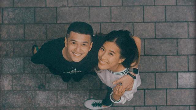 Huỳnh Anh lần đầu công khai ảnh cận mặt với bạn gái mới