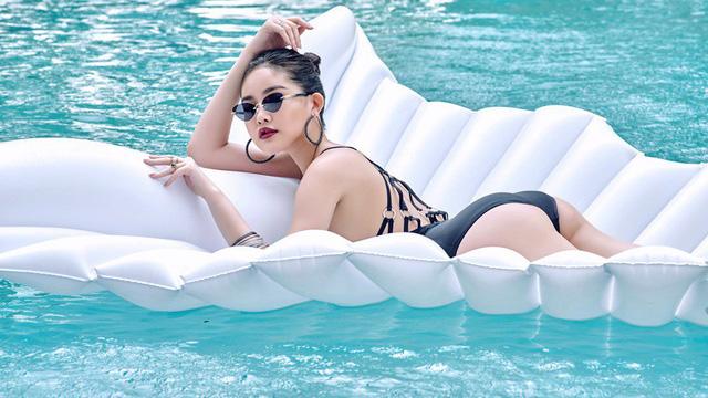 Hoa hậu Lê Âu Ngân Anh ngày càng xinh đẹp và nóng bỏng