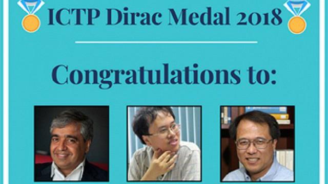 Giáo sư Đàm Thanh Sơn giành huy chương vật lý quốc tế Dirac