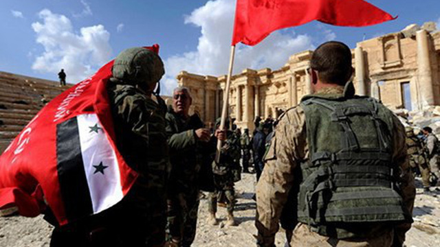 Nga tố cáo Mỹ huấn luyện phiến quân âm mưu tấn công Palmyra