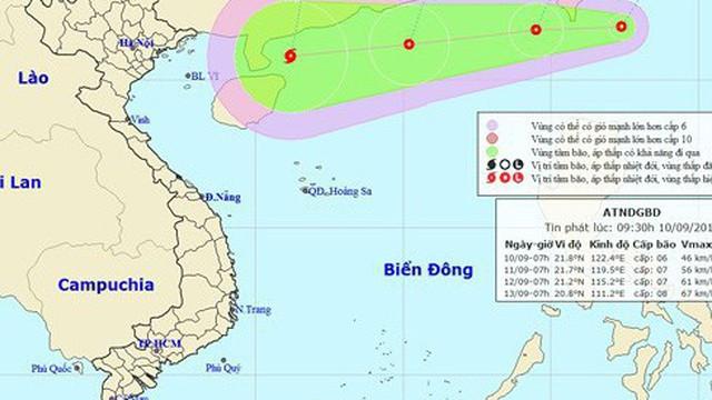 Bão và siêu bão có thể xuất hiện trên Biển Đông trong tuần này