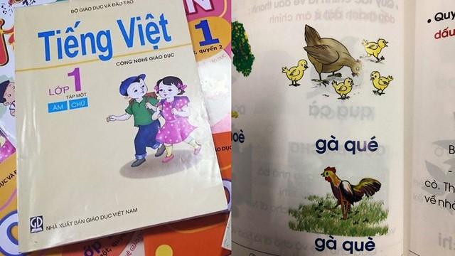Sách tiếng Việt cho trẻ lớp 1 có nhiều vấn đề sai lệch, phản cảm và sự phản biện của người trong cuộc
