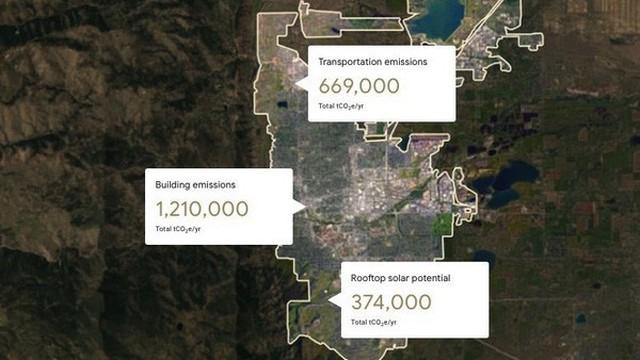Ứng dụng Google Maps sẽ có thể tính toán mức độ ô nhiễm của cả một thành phố