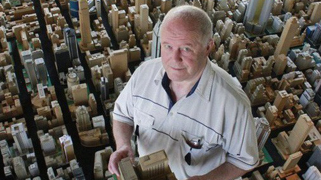 Choáng ngợp với mô hình thành phố mini siêu chi tiết được tạo nên bởi cụ ông 78 tuổi trong suốt hơn 65 năm