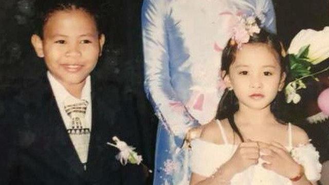 Ảnh hồi bé đáng yêu của Tân Hoa hậu Trần Tiểu Vy