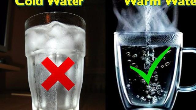 Y học cổ kim đều khẳng định nước lạnh có hại cho cơ thể hơn nước ấm: Cùng kiểm chứng!