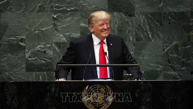Tổng thống Donald Trump lần đầu tiên tuyên bố ủng hộ giải pháp hai nhà nước cho xung đột Trung Đông