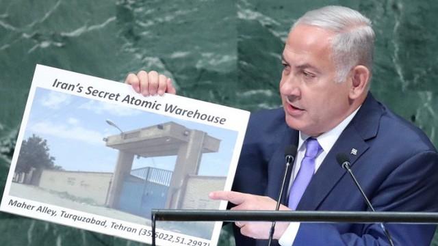 Thủ tướng Israel cáo buộc Iran có kho nguyên tử bí mật ở Tehran