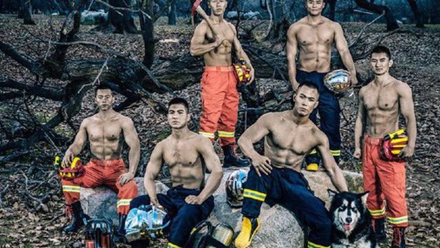 Bộ ảnh lịch nóng bỏng của các chàng lính cứu hỏa khiến chị em thảng thốt