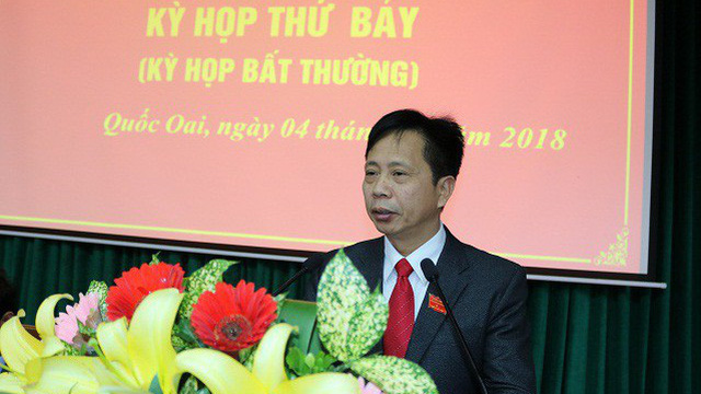 Huyện Quốc Oai bầu chức danh Chủ tịch HĐND